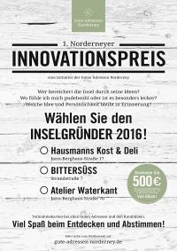 Plakat Innovationspreis